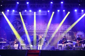 Disbudpar Kampanyekan The Light of Aceh Lewat Live Music Festival Saman